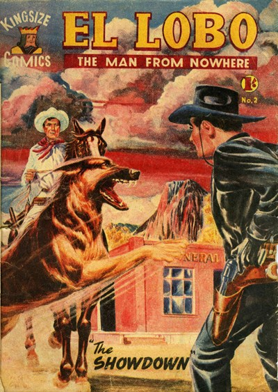 El Lobo the Man from Nowhere (Apache, 1956 series) #2 ([August 1956?])