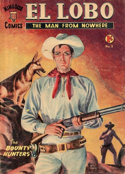 El Lobo the Man from Nowhere (Apache, 1956 series) #3 ([October 1956?])