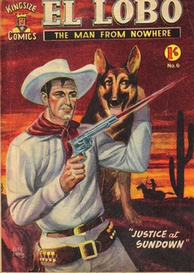 El Lobo the Man from Nowhere (Apache, 1956 series) #6 ([April 1957?])