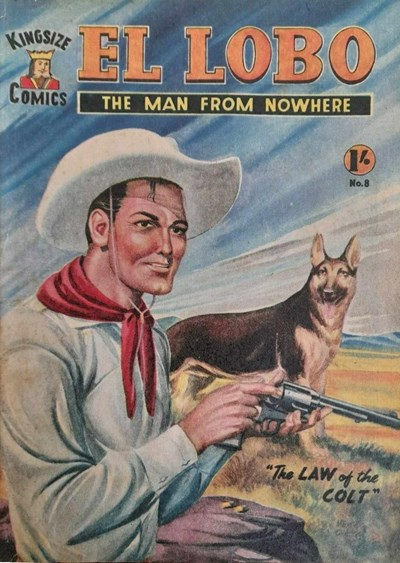 El Lobo the Man from Nowhere (Apache, 1956 series) #8 ([August 1957])