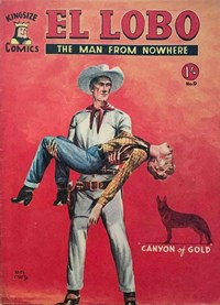 El Lobo the Man from Nowhere (Apache, 1956 series) #9 ([October 1957])