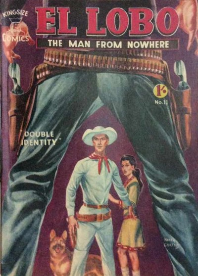 El Lobo the Man from Nowhere (Apache, 1956 series) #11 ([January 1958?])