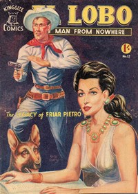 El Lobo the Man from Nowhere (Apache, 1956 series) #12 ([February 1958])