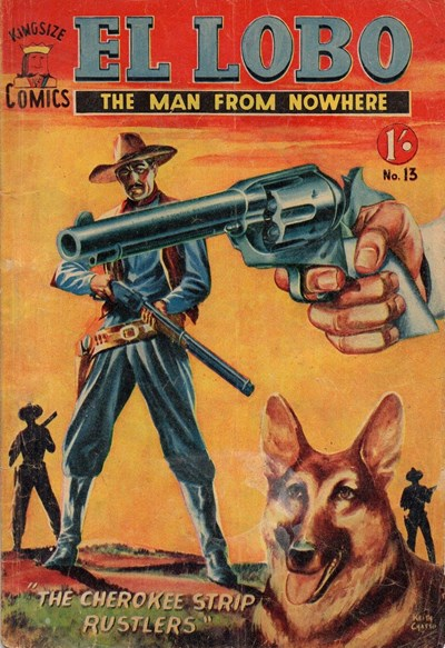 El Lobo the Man from Nowhere (Apache, 1956 series) #13 ([March 1958?])