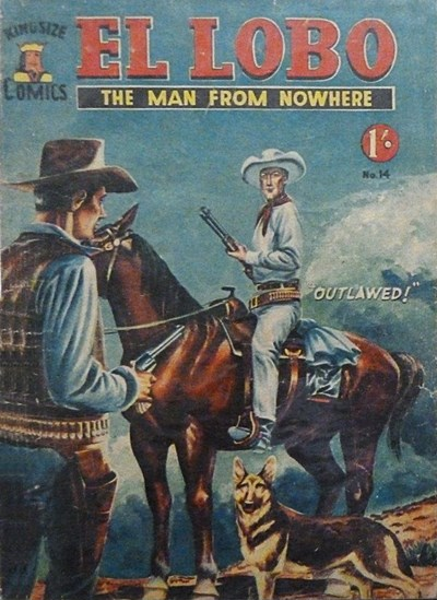 El Lobo the Man from Nowhere (Apache, 1956 series) #14 ([April 1958?])
