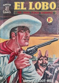 El Lobo the Man from Nowhere (Apache, 1955? series) #16