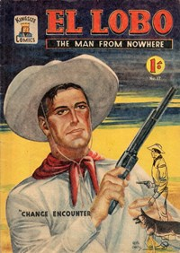 El Lobo the Man from Nowhere (Apache, 1956 series) #17 ([July 1958?])