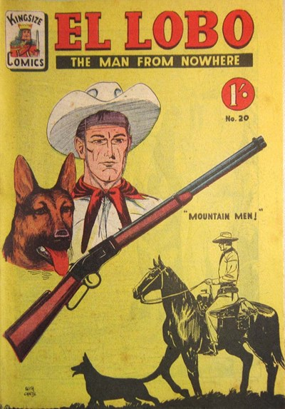 El Lobo the Man from Nowhere (Apache, 1956 series) #20 ([1958?])