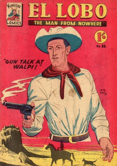 El Lobo the Man from Nowhere (Apache, 1956 series) #22 ([December 1958?])