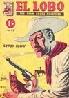 El Lobo the Man from Nowhere (Apache, 1956 series) #23 ([January 1959?])