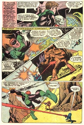 Green Lantern (DC, 1960 series) #59 — Earth's Other Green Lantern (page 11)