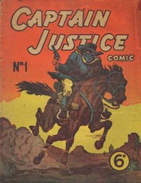 Captain Justice (New Century, 1950 series) #1 — Untitled