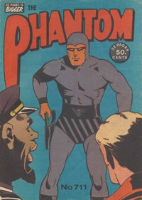 The Phantom (Frew, 1948 series) #711 — Untitled (Cover)