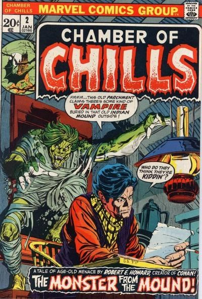 Chamber of Chills (Marvel, 1972 series) #2 (January 1973)