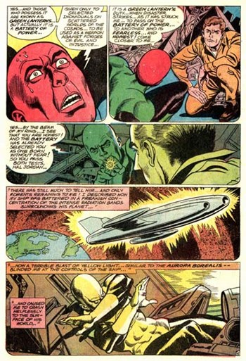 Green Lantern (DC, 1960 series) #59 — Earth's Other Green Lantern (page 5)
