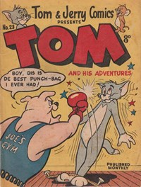 Tom & Jerry Comics Presents Tom and His Adventures (Rosnock, 1953 series) #23