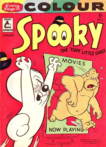 "Spooky the ""Tuff"" Little Ghost (Red Circle, 1956 series) #5 (January 1957)"