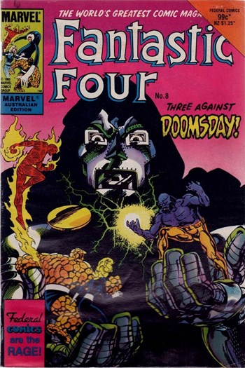 Three Against Doomsday!—Fantastic Four (Federal, 1984 series) #8  ([July 1985])