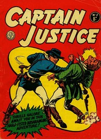 Captain Justice (Horwitz, 1963 series) #2 — Untitled (Cover)