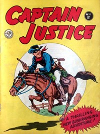 Captain Justice (Horwitz, 1963 series) #1 — Untitled (Cover)