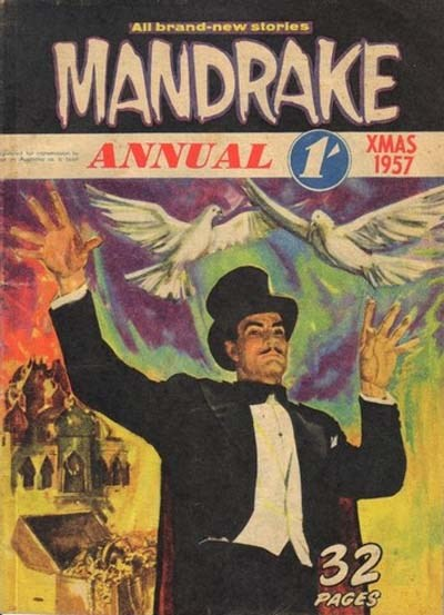 Mandrake Annual (Shakespeare Head, 1954 series) #1957 (Xmas 1957)