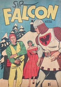 Sir Falcon (Tricho, 1961 series) #55 — Untitled (Cover)