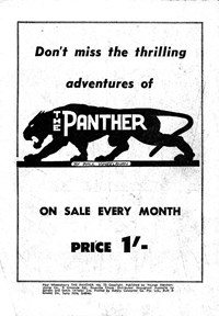 The Panther (Youngs, 1957 series) #73 — The Panther (page 1)