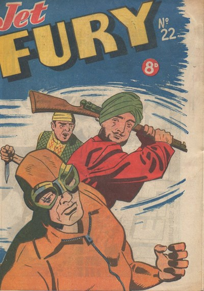 Jet Fury (Pyramid, 1951 series) #22 ([1951?])