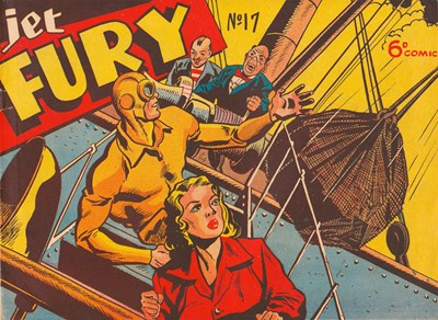 Jet Fury (Pyramid, 1951 series) #17 ([May 1951?])