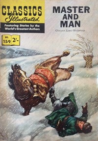 Classics Illustrated (Thorpe & Porter, 1962? series) #159 [HRN 156] (1963)