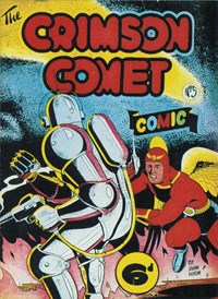 The Crimson Comet Comic (HJ Edwards, 1949 series) #5 — Untitled (Cover)