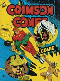 The Crimson Comet Comic (HJ Edwards, 1949 series) #6 — Untitled (Cover)