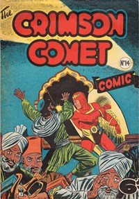 The Crimson Comet Comic (HJ Edwards, 1949 series) #14 — Untitled (Cover)