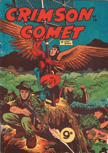 The Crimson Comet (Action Comics, 1955 series) #16  (1955)
