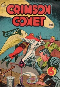 The Crimson Comet Comic (HJ Edwards, 1949 series) #17 — Untitled (Cover)