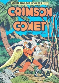 The Crimson Comet Comic (HJ Edwards, 1949 series) #24 — Untitled (Cover)