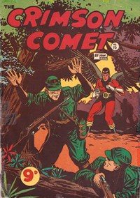 The Crimson Comet (Action Comics, 1955 series) #15 — Untitled (Cover)