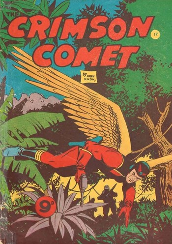 The Crimson Comet (Action Comics, 1955 series) #17  ([1956?])