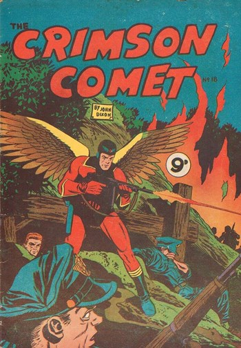 The Crimson Comet (Action Comics, 1955 series) #18  ([1956?])