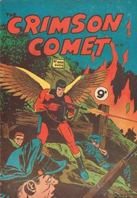 The Crimson Comet (Action Comics, 1955 series) #18 — Untitled (Cover)