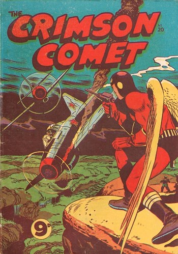 The Crimson Comet (Action Comics, 1955 series) #20  ([1956?])