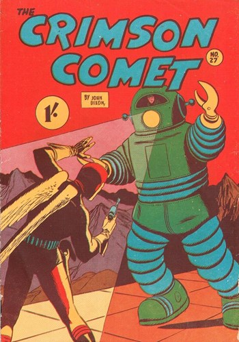 The Crimson Comet (Action Comics, 1955 series) #27  ([1956?])