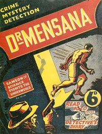 Dr Mensana (NSW Bookstall, 1943?)