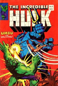 The Incredible Hulk (Yaffa/Page, 1981? series) #5  ([August 1981?])