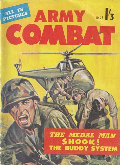 Army Combat Picture Stories (Jubilee, 1963? series) #25 ([November 1964])