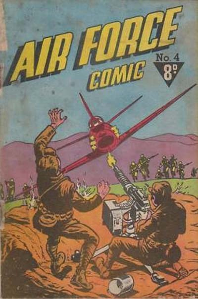 Air Force Comic (Cleland, 1952? series) #4 ([1953?])