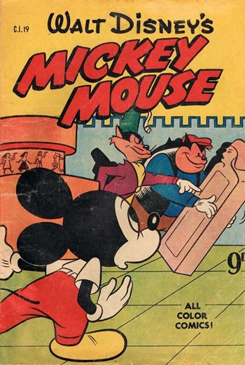 Walt Disney's Character Issue [CI Series] (WG Publications, 1951 series) #C.I.19  (April 1953)
