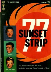 77 Sunset Strip (Gold Key, 1962 series) #2 (February 1963)
