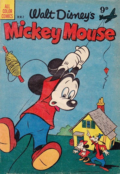 Walt Disney's Mickey Mouse [MM series] (WG Publications, 1953 series) #2  (1953)