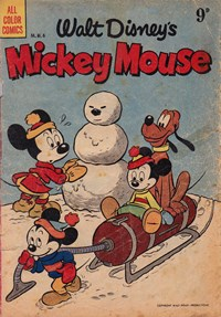 Page 1—Walt Disney's Mickey Mouse [MM series] (WG Publications, 1953 series) #M.M.6  (April 1954)